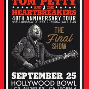 2 - TOM PETTY & HEARTBREAKERS POSTERS  11 BY 17 IN